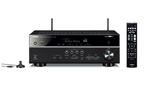 YAMAHA RX-V585 – Amplificateur Home Cinema 145W – Système Bluetooth, Wifi, Airplay, Multiroom – Compatible avec smartphones et ordinateurs – Noir