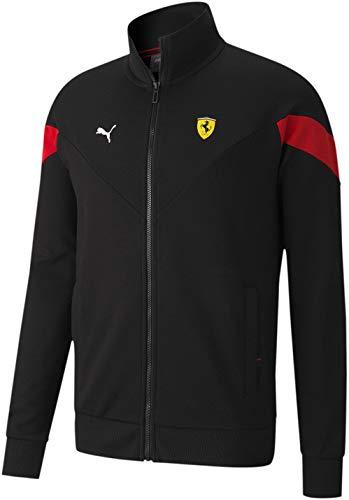 Puma - Mens Ferrari Race MCS Sweat Jacket, Size: Medium, Color: Puma Black