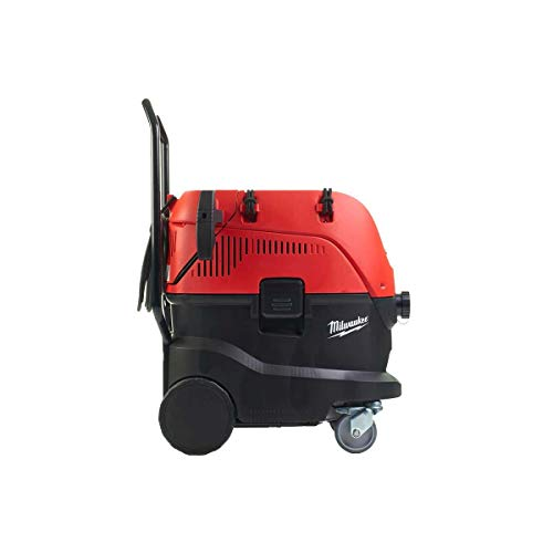 Milwaukee 4933459418 AS-42MAC Staubsauger 42L CLASSE M mit Luftfilter AUTOMATISCH AS 42 MAC, Black And Red