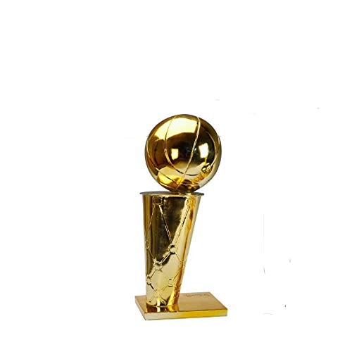 TYZY NBA Campeonato de Baloncesto Trofeo O'Brien Taza del Arte de la decoración del Regalo del Arte para Sentarse Sala de Oficina,15cm