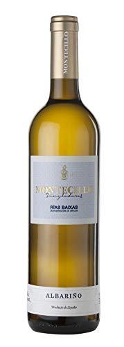 Montecillo Singladuras Vino blanco Denominación de origen Riax Baixas uva 100% Albariño - 3 botellas de 75cl - Total: 225 cl