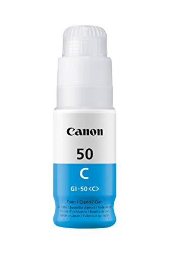 Canon Tintenpatrone GI 50 C cyan 70 ml Original fur Tintenstrahldrucker