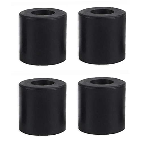 3D Printer Leveling Parts Heatbed Silicone Leveling Column Heat Bed Buffer 4PCs Black