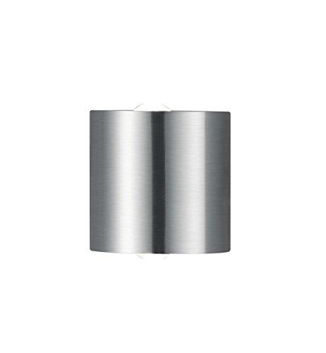 Trio Leuchten LED Wandleuchte Wales 225510207, Metall Nickel matt, 2x 3.2 Watt