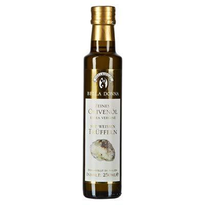 Bella Donna Feines Olivenöl mit weissem Trüffel 250 ml