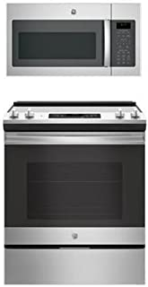 GE 2-Piece Stainless Steel Kitchen Package with 30