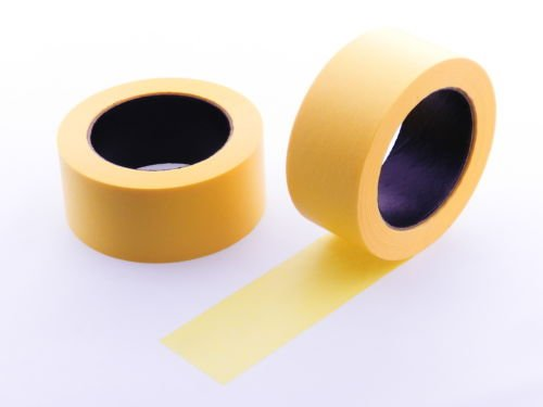 """2pk 2"""" x 60 yd Yellow Painters Tape PROFESSIONAL Grade Delicate Surface Fine Masking Edge Trim Easy Removal (48MM 1.88 in)"""