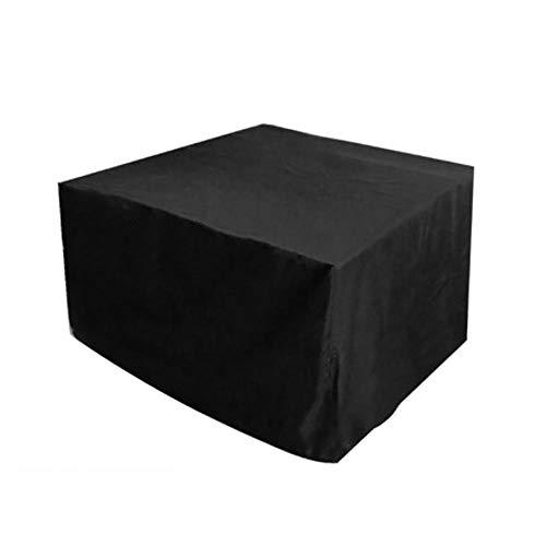 Fundas Muebles Jardín Exterior Impermeable Cubierta de Exterior Funda Patio Protectora Muebles Oxford Resistente Al Polvo Anti-UV para Sofa de Jardin, Al Aire Libre, Mesa y Sillas (213 x 132 x 74CM)