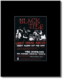 Music Ad World Black Tide - Light from Above Mini Poster - 13.5x10cm