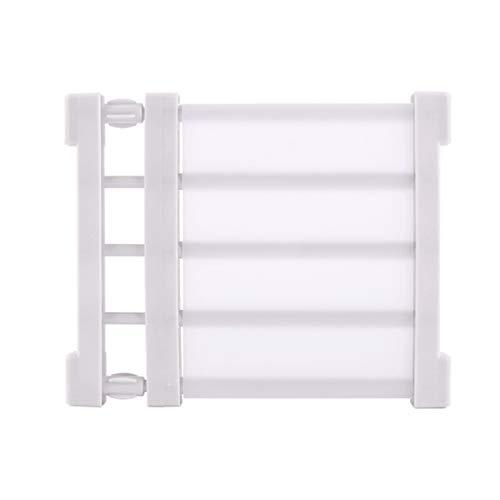 de buena calidad y duraderas especialmente para armarios de cocina Juego de 80 clavijas de soporte para estantes estanter/ías y vitrinas de acero inoxidable