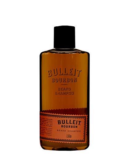 Pan Drselectie Bullleit Bourbon baardshampoo | Beard Wash reinigt zacht de baard | natuurlijke baardverzorging | geur: oranje, paprika, karamel en peper | 150ml
