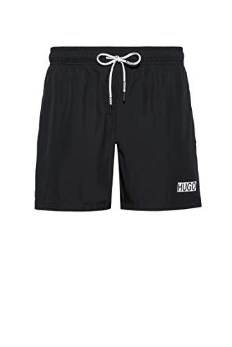 HUGO Herren Shorts Haiti, Black1, Large