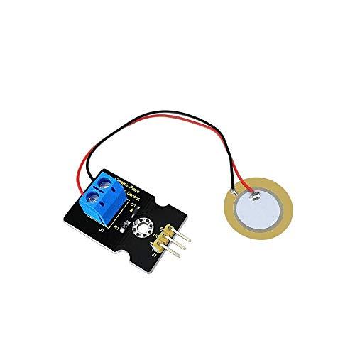 Keyestudio Módulo de sensor de vibración piezoeléctrico de cerámica KS0272 Pi Arduino