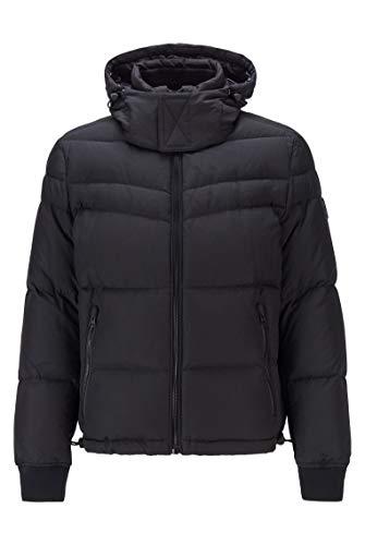 BOSS Olooh2 Abrigo, Negro (1), 52 para Hombre