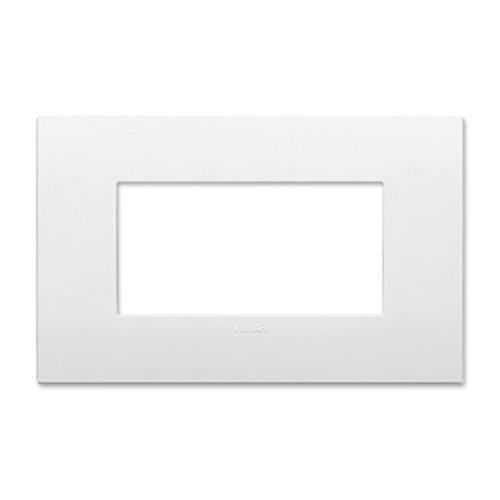 Vimar Placca Classic 4 m, Bianco