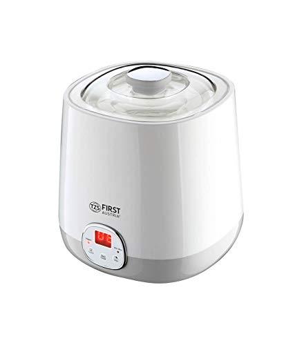 Joghurtbereiter 1 Liter mit Ricewein Funktion, 48 Stunden Timer, Joghurt Maker, yoghurt maker, 20 Watt Sojamilch geeignet FA-5120-1