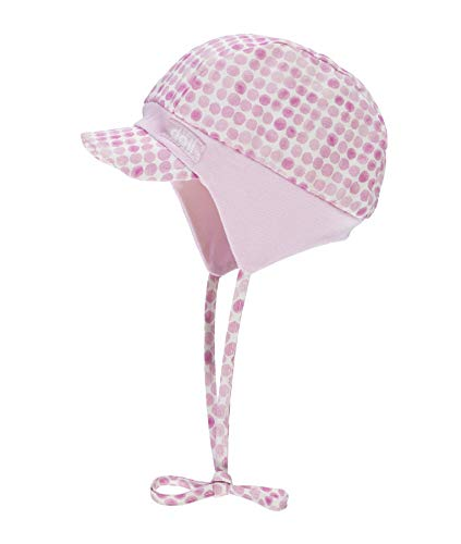 Döll Baby-Mädchen Bindemütze mit Schirm Sonnenhut, Rosa (Pink Lady|Rose 2720), 43