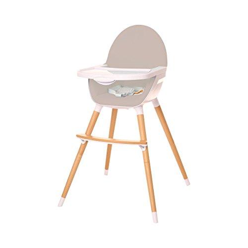 Osann Uno Light mitwachsender Babyhochstuhl und Kinderstuhl in einem, grau 165-025-01