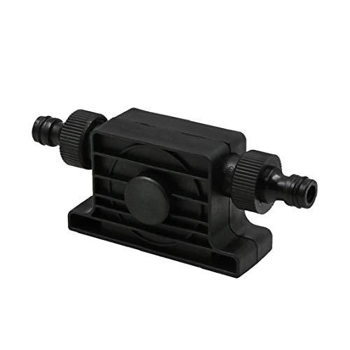 AAGOOD-Hand elektrische Bohrmaschine Pump Tragbare Mini-selbstansaugend Kleine Wasserpumpe mit 2 Steckverbinder Rundschaftförderpumpe für Öl-flüssiges Wasser