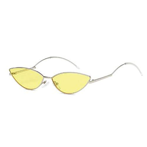 Oogschaduw Kleine zonnebril Dames 2020 Cateye Snoep Kleur Bril Merk Designer Retro Zonnebril Dames