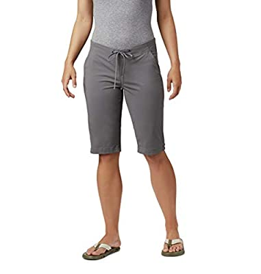 Columbia Women's Anytime Outdoor Long Short, City Grey, 2x13