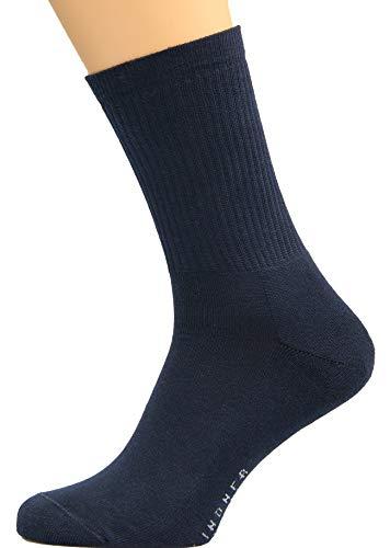 Max Lindner Socken Sportsocken dunkelblau Größe 42, 43, 44-5erPack