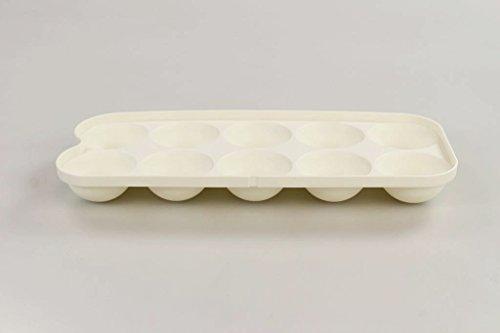 TUPPERWARE Kühlschrank Eierbox Einsatz für Eier Box weiß 16864