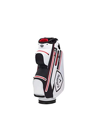 Callaway Golf - Bolsa Carrito Chev Dry 2021, Color Negro, Blanco y Rojo