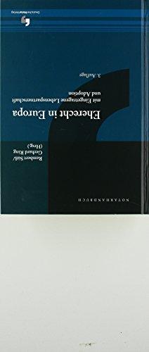 Eherecht in Europa (NotarHandbuch)