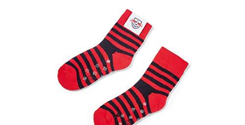 RB Leipzig Baby Socken Socks (19-22, rot/schwarz)