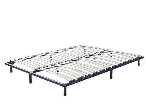 Beliani Freistehender Lattenrost für alle Betten 180x200 cm
