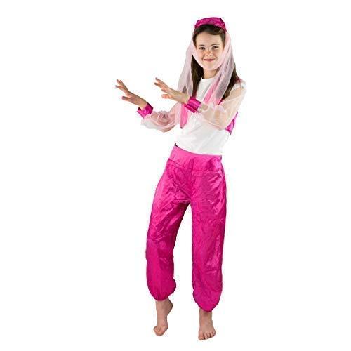 Bodysocks® Disfraz de Bailarina Arabe (4-6 años)