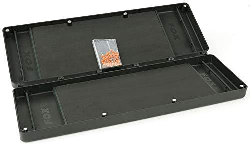 Fox F box large double rig box system - Angelbox für Karpfenrigs & Montagen, Tacklebox für Karpfenvorfächer, Rigbox, Kleinteilebox