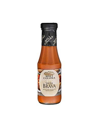 Moli Coloma - Salsa Brava - Sauce mit authentischem, hausgemachtem Geschmack - ideal für Nachos und Kartoffeln - 300 Gramm