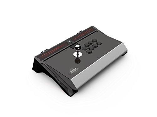 Arcade stick Qanba - Dragon - Licence Sony PS4, Pro FightStick avec boutons et joystick Sanwa, compatible PS3 et PC, prise jack 3.5mm