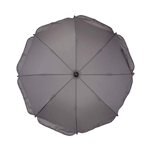 BABYCAB Universal Sonnenschirm marine blau mit UV-Schutz 50+ / Sonnenschirm für Kinderwagen und Buggy