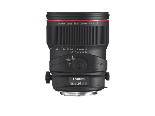 Canon TS-E 24mm f/3.5L II Ultra Wide Tilt-Shift...