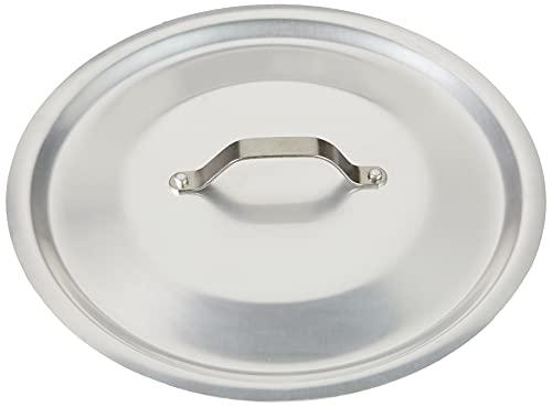 Pentole Agnelli ALMA12928 Coperchio Rotondo Pesante con Ponticello, Alluminio Professionale 3 mm, 28 cm