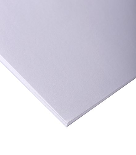 Clairefontaine 37266C Skizzenpapier (90 g, 80 x 120 cm, 10 Blatt, ideal für Künstler oder die Schule) weiß