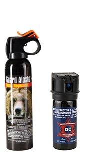 Pepper Enforcement Bundle - Guard Alaska 9 oz. Bear Spray Repellent + 2 oz Maximum Strength Pepper Spray w/ 10% OC & Marker Dye