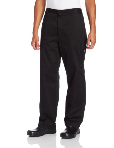 Dickies Men's Big and Tall The Professional Chef Pant, Black, 3X-Large