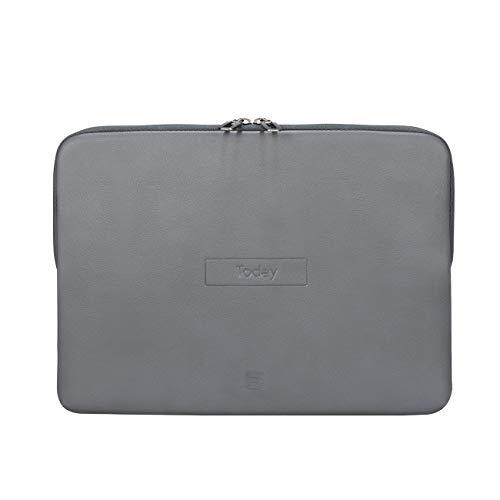 """Tucano Today Notebook Sleeve con Memory Foam 13"""" - 14"""" Gris"""