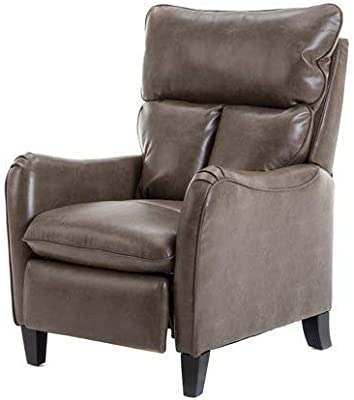 Amazon.com: FDW Recliner Chair Single Reclining Sofa Leather ...
