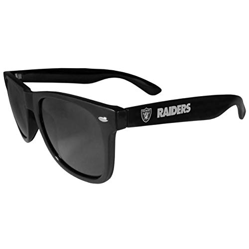 NFL Siskiyou Sports Fan Shop Las Vegas Raiders Beachfarer Sunglasses One Size Team Color