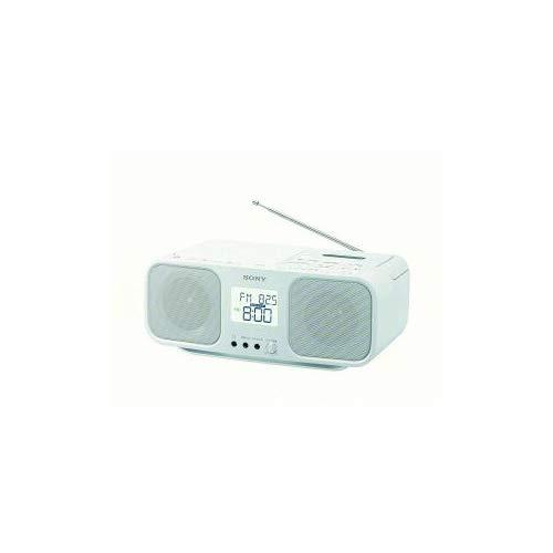 【まとめ 5セット】 ソニー CFD-S401-WC ワイドFM対応 CDラジオカセットレコーダー ホワイト