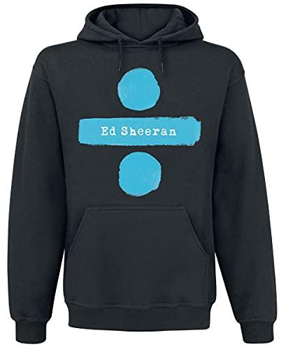 Official Brand Ed Sheeran Divide Logo Männer Kapuzenpullover schwarz M 80% Baumwolle, 20% Polyester Band-Merch, Bands