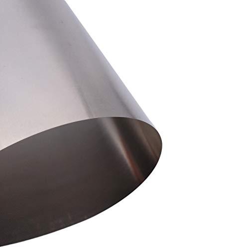 0.1mm x 200mm x 300mm Titanium Foil Plate Sheet TA2 99% Purity
