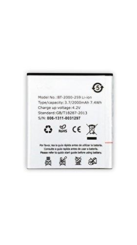 Todobarato24h Bateria Compatible con BQ AQUARIS E4 2000 mAh High Capacity