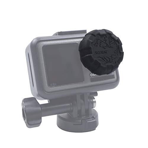 Skyreat Objektiv Abdeckung Soft Plastic Schutzhülle Objektivkappe für DJI Osmo Action Camera Zubehör