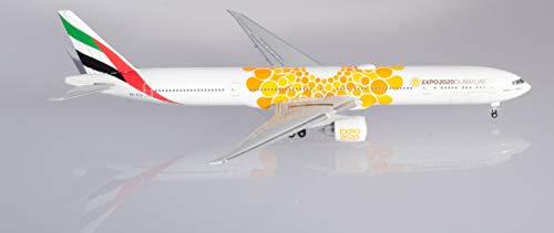 herpa 533539 Emirates Boeing 777-300ER Expo 2020 Dubai, Opportunity Livery in Miniatur zum Basteln Sammeln und als Geschenk, Mehrfarbig
